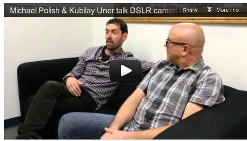 Michael Polish & Kubilay Uner talk DSLR cameras, For Lovers Only, & Guerrilla Filmmaking_Film_Courage_Acting