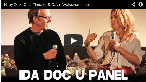 Kirby Dick, Ondi Timoner & David Weissman discuss doc filmmaking (IDA Panel) Film Courage Documentary Film Doc
