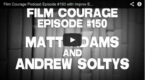 Film Courage Podcast Episode #150 with Improv Everywhere's Matt Adams and Andrew Soltys We Cause Scenes Movie Charlie Todd