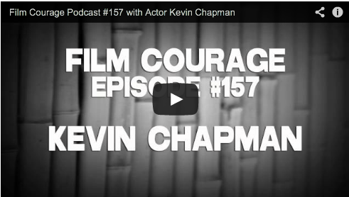 Film Courage Podcast #157 with Actor Kevin Chapman Film Courage Mystic River Person of Interest Dectective Fusco