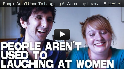People Aren't Used To Laughing At Women by Etta Devine & Gabriel Diani_Film_Courage