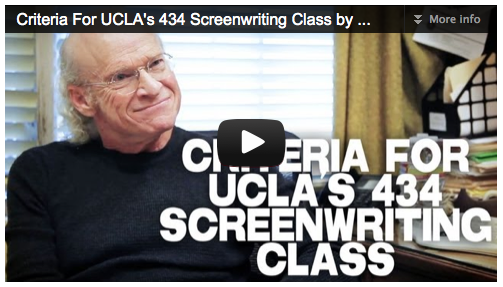 Criteria For UCLA's 434 Screenwriting Class by Richard Walter Film Courage