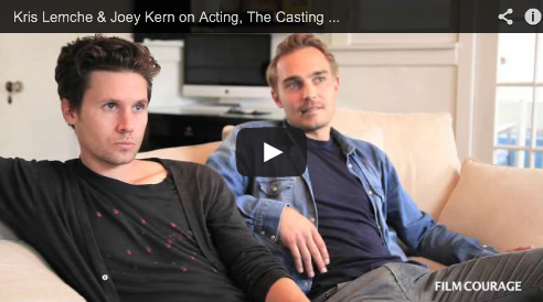 Kris Lemche & Joey Kern on Acting, The Casting Process, Publicity & ALTER EGOS - The Complete Series Audition Casting Director Film Courage Independent Cinema Hollywood
