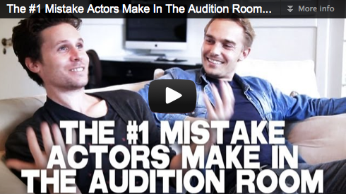 The #1 Mistake Actors Make In The Audition Room by Kris Lemche & Joey Kern Film Courage