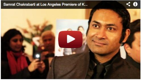 Samrat Chakrabarti at Los Angeles Premiere of Kamal Haasan's VISHWAROOPAM Film Courage Bollywood Actor Movie