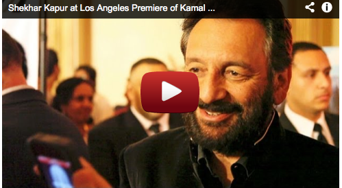 Shekhar Kapur at Los Angeles Premiere of Kamal Haasan's VISHWAROOPAM Film Courage Bollywood Movie Star