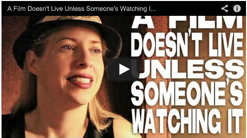 A Film Doesn't Live Unless Someone's Watching It by Tiffany Shlain Film Courage Connected
