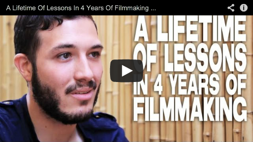 A Lifetime Of Lessons In 4 Years Of Filmmaking by Nicolas Alcala The Cosmonaut Filmmaker Film Courage Crowdfunding