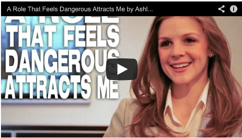 A Role That Feels Dangerous Attracts Me by Ashley Bell The Last Exorcism Part II CBS Films Film Courage Beautiful Actress