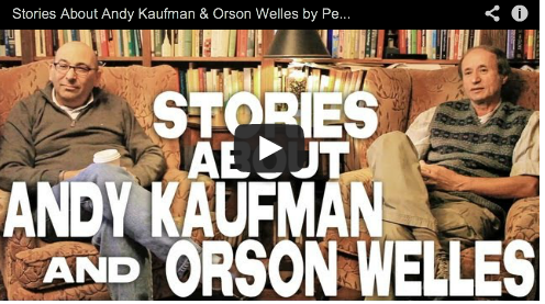 Stories About Andy Kaufman & Orson Welles by Peter Desberg & Jeffrey Davis Screenwriting Comedy Television Writer Film Courage