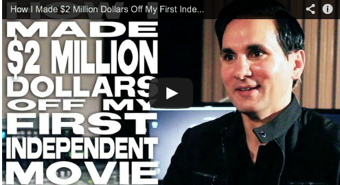 How I Made $2 Million Dollars Off My First Independent Movie by Amar Sidhu Bollywood Male actor The Black Russian Action Film Courage
