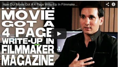 How Our Movie Got A 4 Page Write-Up In Filmmaker Magazine by Amar Sidhu The Black Russian Aakhari Decision Hot male Bollywood star Film Courage Indian action