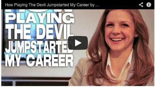 How Playing The Devil Jumpstarted My Career The Last Exorcism Part II by Ashley Bell CBS Films Film Courage Beautiful Actress