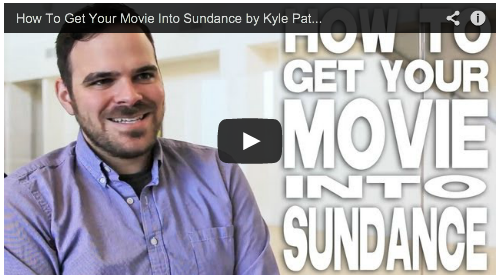 How To Get Your Movie Into Sundance by Kyle Patrick Alvarez Film Festivals Director Film Courage Easier with Practice COG