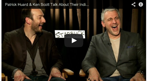 Patrick Huard & Ken Scott Talk About Their Indie Hit STARBUCK (Now In Theaters) French Canadian Hot Male Actor Film Courage