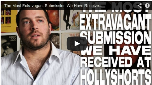 The Most Extravagant Submission We Have Received At HollyShorts by Daniel Sol Theo Dumont Film Festival Hollyshorts Film Courage Producer