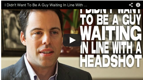 I Didn't Want To Be A Guy Waiting In Line With A Headshot by Ben Pratt Film Courage Acting Los Angeles Actors Radio Host