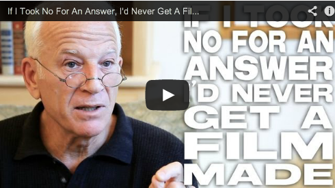 If I Took No For An Answer, I'd Never Get A Film Made by Gary W. Goldstein Film Courage Pretty Woman Under Siege Mothman Prophecies