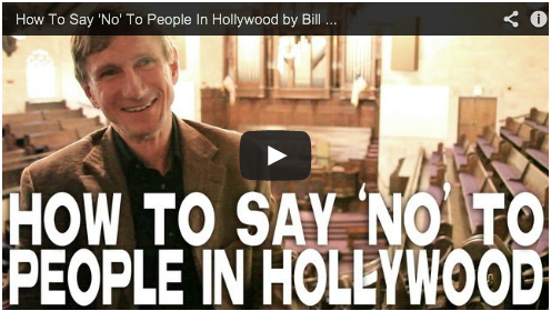 How To Say 'No' To People In Hollywood by Bill Oberst Jr Film Courage Acting Advice