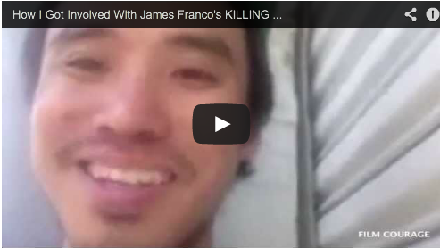 How I Got Involved With James Franco's KILLING ANIMALS by Bruce Thierry Cheung Palo Alto Stories Film Courage NYU Tisch