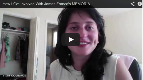 How I Got Involved With James Franco's MEMORIA by Nina Ljeti Palo Alto Stories Film Courage NYU Tisch