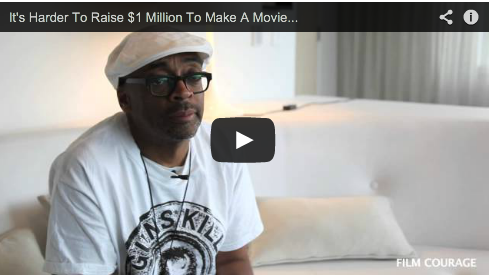 It's Harder To Raise $1 Million To Make A Movie Than It Is $25 Million by Spike Lee Film Courage Crowdfunding Shes Gotta Have It NYU