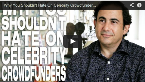 Why You Shouldn't Hate On Celebrity Crowdfunders by Jon Reiss PMD Think Outside the Box Office Film Courage