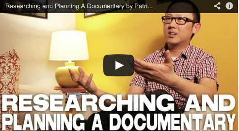 Researching and Planning A Documentary by Patrick Shen In Pursuit of Silence Film Courage Documentary Filmmaker