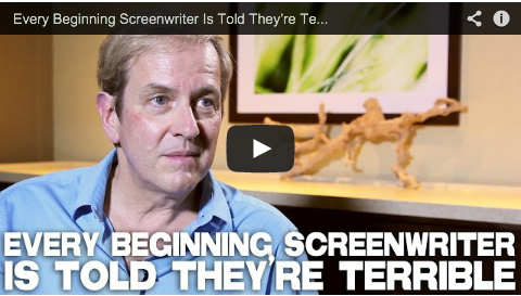 Every Beginning Screenwriter Is Told They're Terrible by Peter Russell_filmcourage_story_expo_2014_screenwriting_advice_tips_entertainment_industry