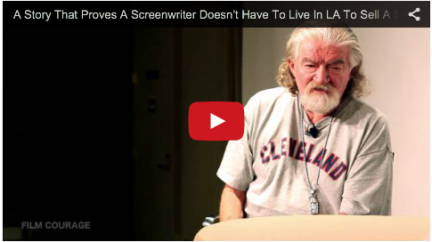 A Story That Proves A Screenwriter Doesn't Have To Live In LA To Sell A Screenplay by Joe Eszterhas_story_expo_filmcourage_showgirls_basic_instinct_screenwriting_tips_advice