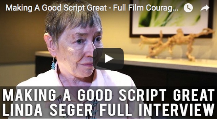 Making A Good Script Great - Full Film Courage Interview with Dr. Linda Seger_filmcourage_women_in_film_story_expo_am_writing_booktube