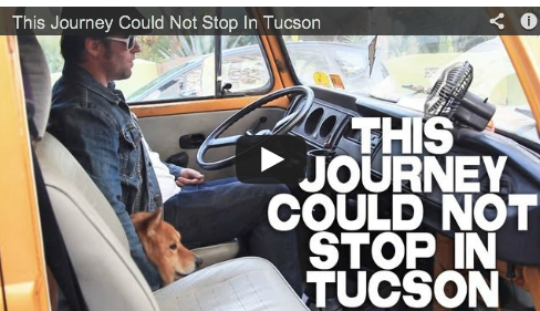 This Journey Could Not Stop In Tucson Aaron Caine Filmmaker Film Courage