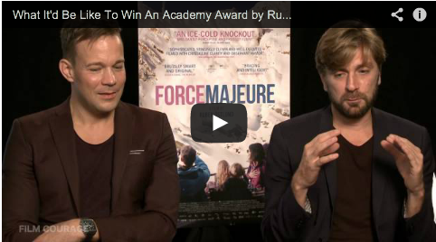 What It'd Be Like To Win An Academy Award by Ruben Östlund_Johannes Bah Kuhnke__Filmcourage_Force_Majeure_Sweden_Swedish_Filmmakers_Svenska_Filmer