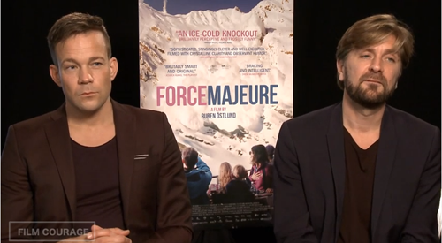 When Filmmakers Allow Actors To Watch Their Dailies by Ruben Östlund & Johannes Bah Kuhnke_filmcourage_swedish_filmmaking_svenska_filmer_force_majeure_movie