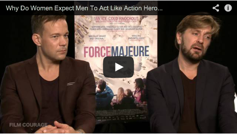 Why Do Women Expect Men To Act Like Action Heroes In Real Life? by Ruben Östlund_ohannes Kuhnke_filmcourage_filmmaking_cinema_sweden_svenksa_filmer_swedish_filmmaker