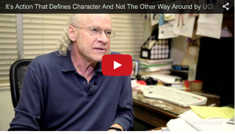 It's Action That Defines Character And Not The Other Way Around by UCLA Professor Richard Walter_filmcourage_screenwriting_tips_advice_writing_101_writer