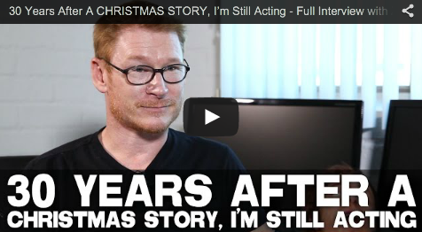 30 Years After A CHRISTMAS STORY, I'm Still Acting - Full Interview with Zack Ward_filmcourage_scut_farkus_film_television_actor