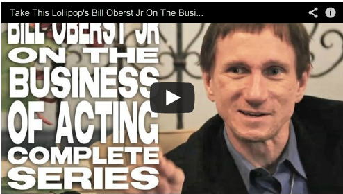 Take This Lollipop's Bill Oberst Jr On The Business Of Acting - The Complete Film Courage Series Take This Lolipop Facebook App Film Courage Actor Horro Films