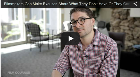 Filmmakers Can Make Excuses About What They Don't Have Or They Can Make A Movie by James Kicklighter_filmcourage_desires_of_the_heart_directing_director