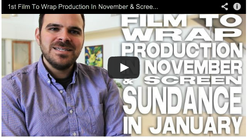 1st Film To Wrap Production In November & Screen Sundance In January by Kyle Patrick Alvarez Easier with Practice Film Courage COG
