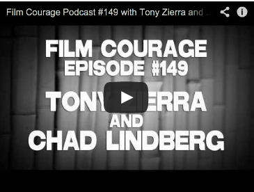 Film Courage Podcast #149 with Tony Zierra and Chad Lindberg of MY BIG BREAK Supernatural show Elizabeth Yoffe Acting