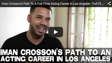 Iman Crosson's Path To A Full-Time Acting Career In Los Angeles - Full Film Courage Interview_alpha_cat_youtube_filmcourage_viral_comedy_videos