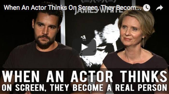 When An Actor Thinks On Screen, They Become A Real Person by Christopher Abbott & Cynthia Nixon_filmcourage_movies_James_White_indie_film