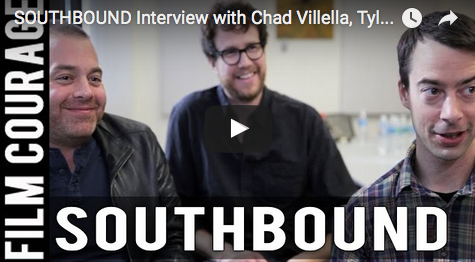 SOUTHBOUND_Interview_Chad_Villella_Tyler_Gillett_Patrick_Horvath_vhs_filmmaking_radio_silence_independent_filmmaking_tips