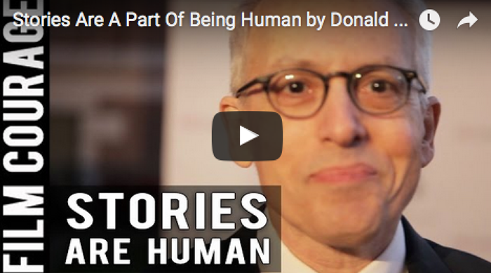 Stories Are A Part Of Being Human by Donald Margulies of THE END OF TOUR_USC_Scripter_Awards_filmcourage_screenwriting_author_books_writing_Tips