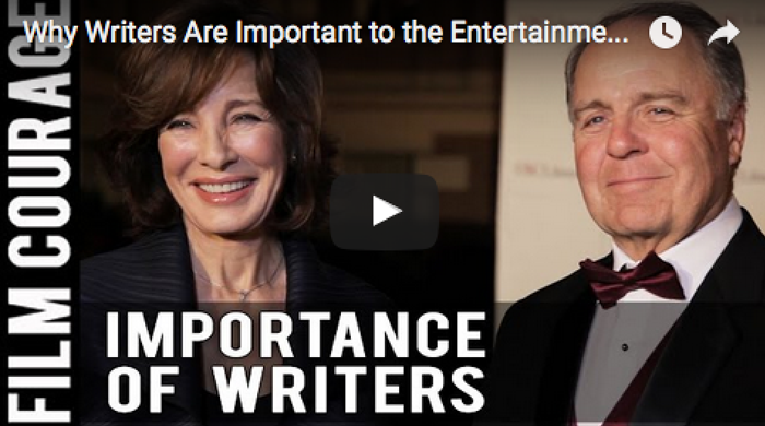 Why Writers Are Important to the Entertainment Industry_Anne_Archer_Gregg_Bowman_USC_Scripter_Awards_Screenwriting_Movies_Am_Writing