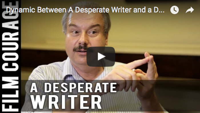 Dynamic_Between_A_Desperate_Writer_and_a_Day_Job_William_C_Martell_story_expo_filmcourage_writing_tips_script_author_booktube