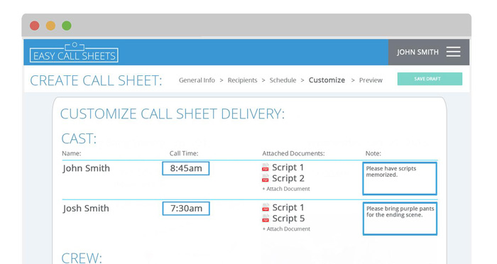 Mike_Vannelli_Easy_Call_Sheets_App_Tech_Filmcourage_Filmmaking_2