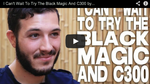I Can't Wait To Try The Black Magic And C300 by Nicolas Alcala The Cosmonaut Camera DSLR Film Courage Director