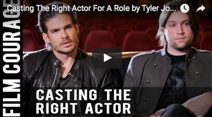 Casting_The_Right_Actor_For_A_Role_Tyler_Johnson_Pascal_Payant_filmcourage_on_the_horizon_acting_biz_audition